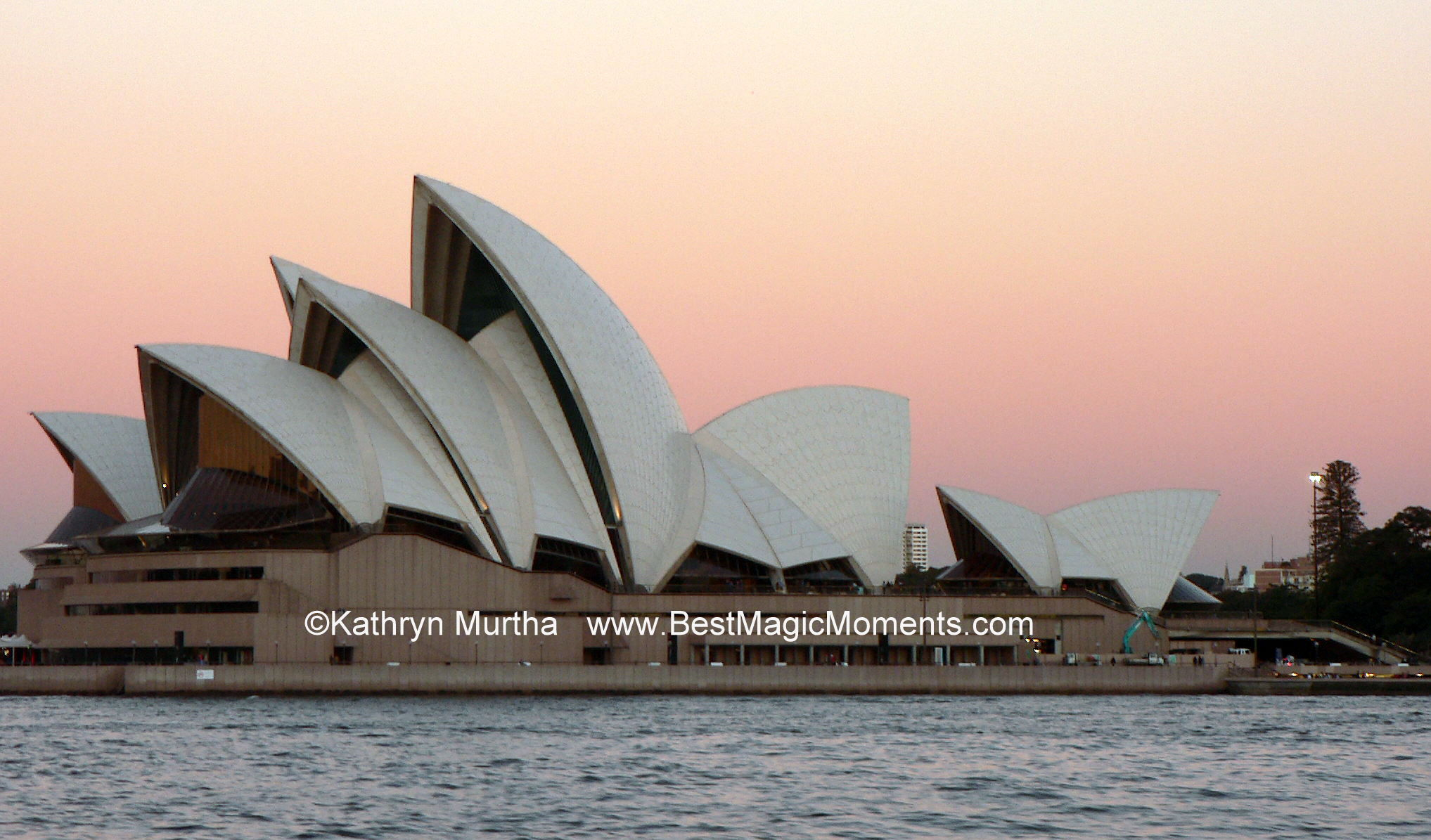 Sydney Opera House at Sunset